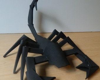 Foamcraft Scorpion, Foam Sculpture, Animal Figurine