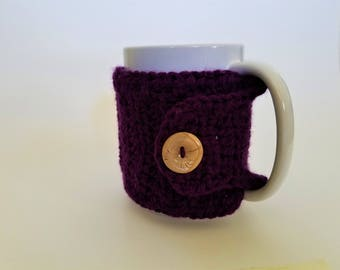 Handmade Mug Cozy, Coffee Cozy, Cozy