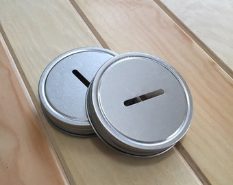Piggy Bank Mason Jar Lid