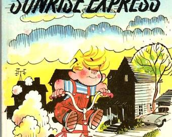 Dennish the Menace Sunrise Express Paperback Book Hank Ketcham 1983