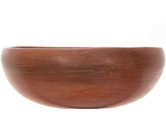 Vintage Hopi Redware Piki Bowl Plainware Style