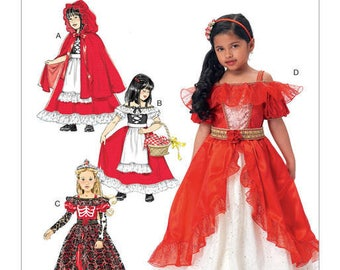 Mc Call's M7454 child costume sewing pattern type little Red Riding Hood