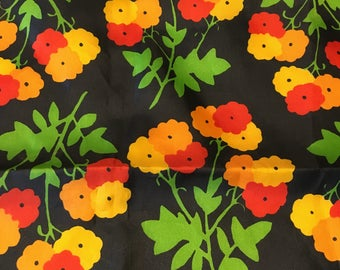 Vintage Vera Neumann Floral Scarf
