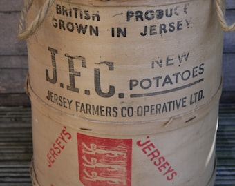 Vintage Wooden Crate - English Potatoes