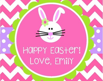 Personalized Easter PRINTABLE Favor Tag