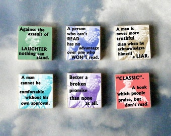 Mark Twain Magnet Gift Set  No 3