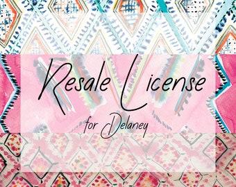 Resale License for 3 prints