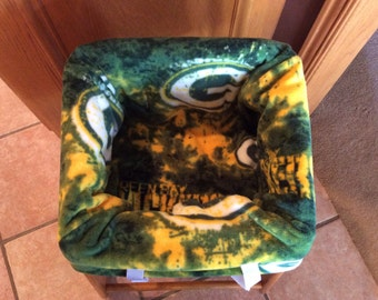 Restaurant Highchair Seat Cover, Green Bay Packers