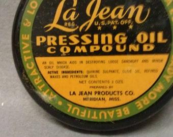 La Jean Pressing Oil Compound Tin