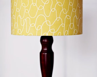 Lampshade, Scandinavian Lamp, Yellow Lamp Shade, Mustard Home Decor, Retro  Decor, Good Looking