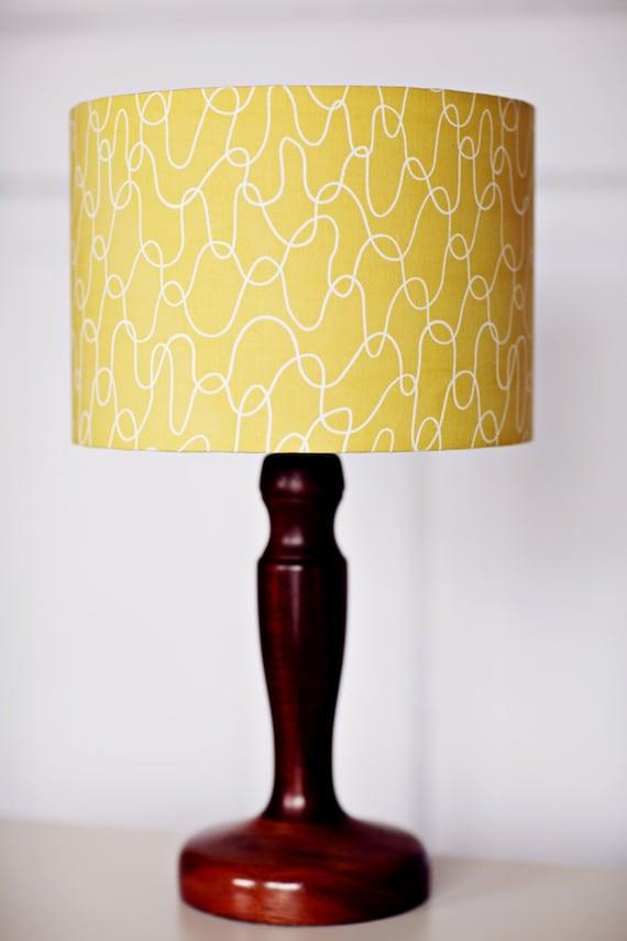 Lampshade Scandinavian Lamp Yellow Lamp Shade Mustard Home