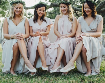 Cinderollies Foldable Ballet Flats, Ballet Flats, foldable flats, Gold Ballet Flats, Wedding Flats, bridesmaid gift, unique wedding favor