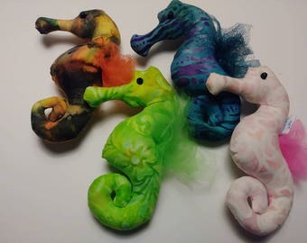 Hand-Made Tiny Plush Sea Creatures