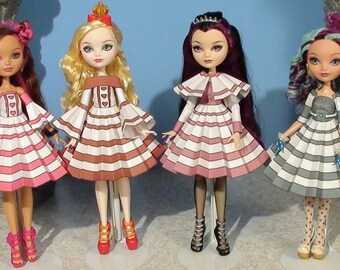 Emma Printable Doll Clothes - Fits Ever After High and more!