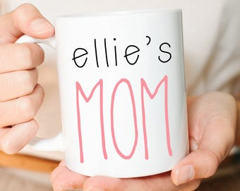 Personalized Gift for Mom, Mother's Day Gift, Personalized Gift, Custom Mug, Gift for Her, Expecting Mom Gift, New Mom Gift, Coffee Mug