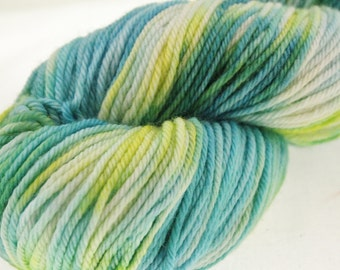 Hand Dyed Hand Painted Pick Your Base -  Up A Creek