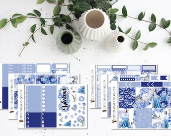 Ice Queen || Weekly Planner Kit (175+ Stickers) || Erin Condren, Happy Planner, Recollections, No White Space || SeattlekangarooPlans