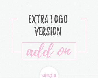 Add On -extra logo version with all files