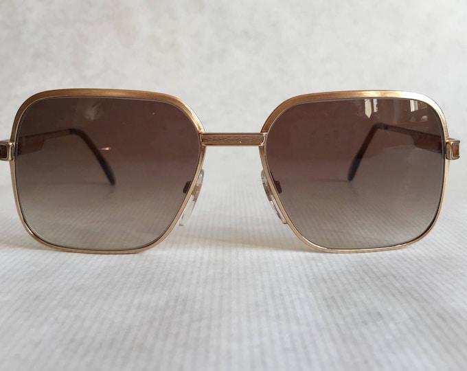 Neostyle Boutique 510 822 Grained Crocodile Vintage Sunglasses New Unworn Deadstock