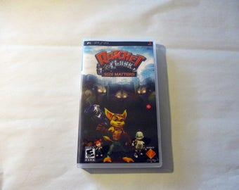 Ratchet & Clank: Size Matters Custom PSP Case (***No Game***)