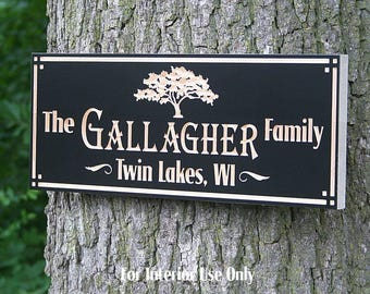 Custom Cabin Sign, Sign For Lake House, Family Name Sign, Welcome To The Lake Sign, Cabin Sign, Wooden Last Name, Benchmark Signs, Maple TG