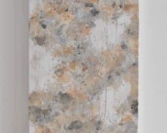 Neutral Colors Abstract Acrylic Painting