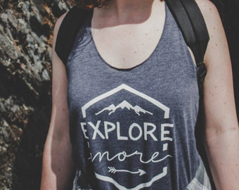 Explore More Women's Adventure Tank Top
