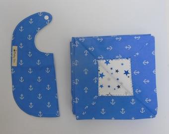 Baby Blanket & Bib Set