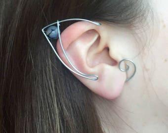 Elf ears (a pair) elven ear - ear cuff - elvish earring - elf ear
