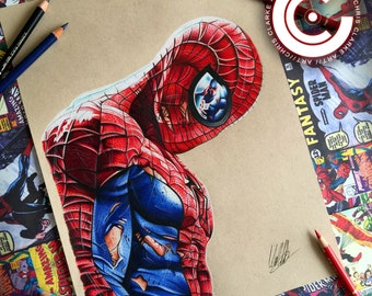 Spiderman Limited Edition Print