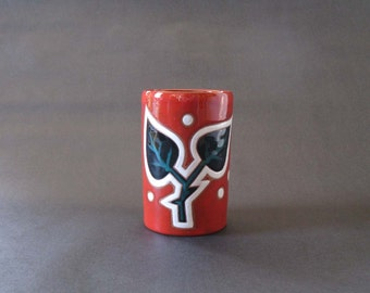 Rare Midcentury Jean Picart le Doux Vase / Vessel - Céramiques Sant-Vicens, France 1960s