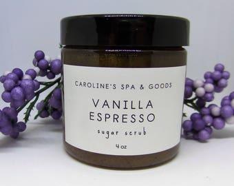 Vanilla Espresso Sugar Scrub