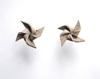 leather . pinwheel . studs