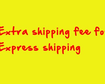 Extra shipping fee for Express shipping