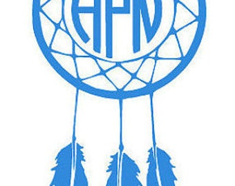 Dream Catcher Personalized Decal