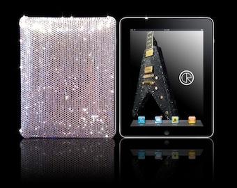 Ipad Mini 16ss Clear Case embellished with Swarovski® crystals