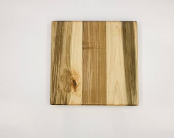 Hardwood Cutting Board - Maple and Cherry
