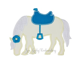 Horse Patch - Horse Applique - Horse Iron on - Pony Patch - Pony - Embroidered Patch - Iron On Patch - Sew On Patch - Animal Patch - Patch