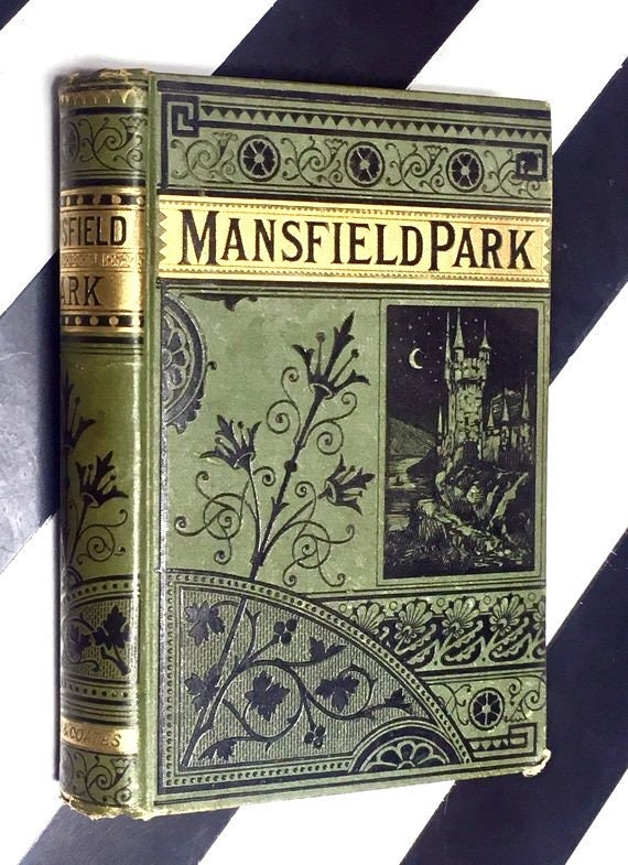 Mansfield Park: A Novel by Jane Austen (undated) hardcover book