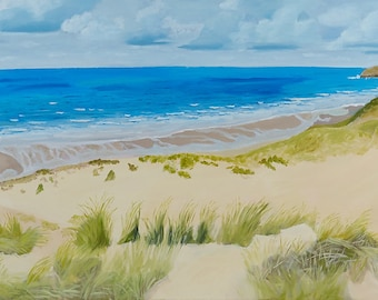 Limited edition canvas print - Dunes