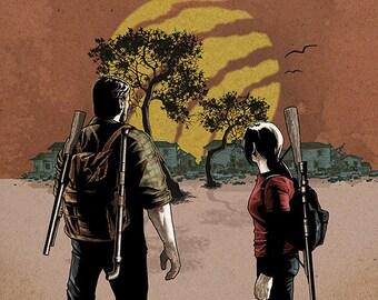 The Last of Us 11x17 print