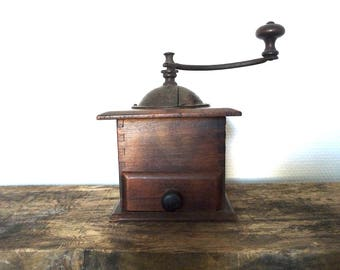Old mill coffee decor kitchen Vintage, Made in France, 1950