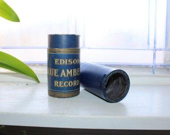 Antique Edison Cylinder Record 1595 Mystic Dreams Waltz