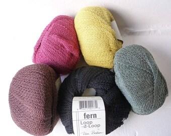 Yarn Sale  -  Fern  Loop-d-Loop by Teva Durham for  Tahki Stacy Charles