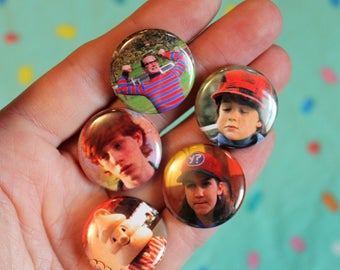 The Adventures of Pete & Pete - pack of 5 one inch pins