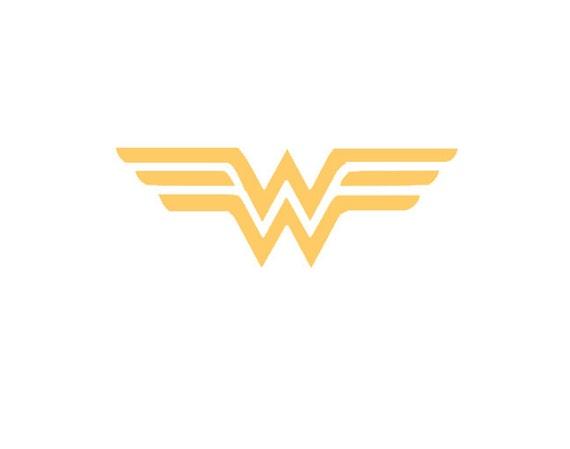 Wonder Woman Vinyl Car Decal Justice League Superman Dc