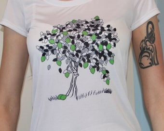 Lime Tree T-shirt or Tank Top