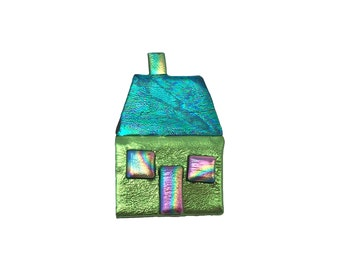 Little House Pin, House Brooch, House Magnet