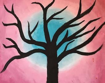 Dark Tree- 16X20 Canvas