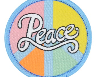 Peace Iron-on patch